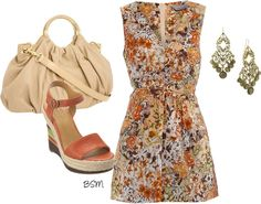 Ginger Floral, created by berrysweetmama on Polyvore