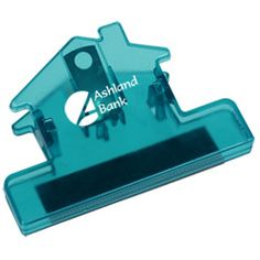 Feature your logo in this custom house clip!