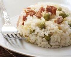 Risotto aux petits pois spécial Thermomix : http://www.cuisineaz.com/recettes/risotto-aux-petits-pois-special-thermomix-79399.aspx