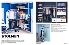 Page 21 of Wardrobes 2013 Ikea, Wardrobes, Storage Solutions, 21st, Shelves, Bedroom, Closet, Home Decor, Walk In Closet