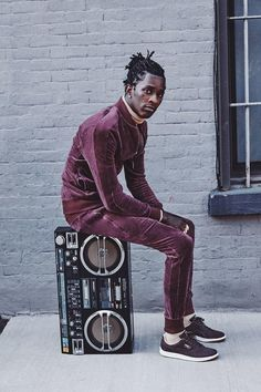 young thug dons velour for new puma campaign   read   i-D