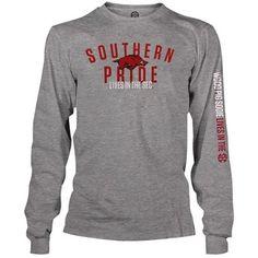 Weezabi Arkansas Razorbacks SEC on ESPN Long Sleeve Southern Pride T-Shirt $21.95