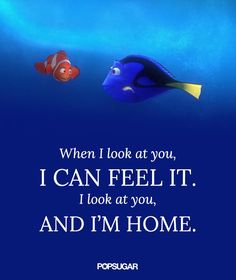 >>>Cheap Sale OFF! >>>Visit>> Pin for Later: 16 Disney Quotes That Will Make Your Heart Melt Finding Nemo When I look at you I can feel it. I look at you and I'm home. Citations Disney, Citations Film, The Words, Citation Force, Disney Love Quotes, Disney Friendship Quotes, Disney Quotes About Family, Movie Quotes About Love, Beautiful Disney Quotes