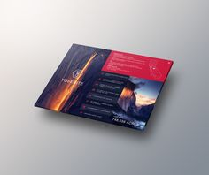 National Parks interactive information brochure UI on Behance