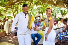 A Stylish Venda Wedding African Wedding Attire, African Attire, African Dress, Ankara Dress, Ghana Traditional Wedding, African Traditional Wedding Dress, Venda Traditional Attire, Traditional Outfits, African Print Fashion