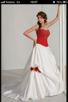 This is the sort of wedding dress I would wear!