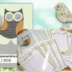 ORGANISATION : Cahier journal de la maitresse