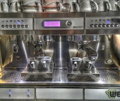 Happiness is having a good espresso machine  #goodmorningworld #tribeca #skg #thessaloniki #espresso #espressomachine #jacobscoffee #wega http://ift.tt/1VbgBi2