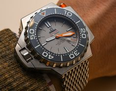 Top 10 Watches Of Baselworld 2015:  Omega Seamaster Ploprof 1200M Co-Axial Master Chronometer