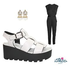 Ideal para una noche veraniega #isteriashoes #ootd #outfit #night #fashion #style #blogger #shoes