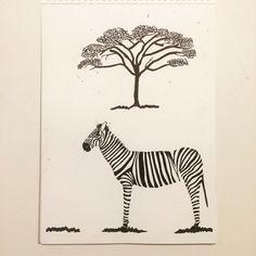 #zebra #painting