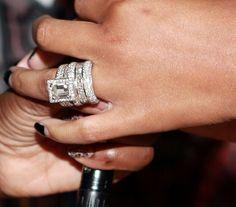 thefashionmansion:  Tamar Braxton's Wedding Ring