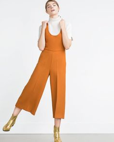Obsessed!!!  I need this to go on sale.  ZARA - WOMAN - CROPPED JUMPSUIT