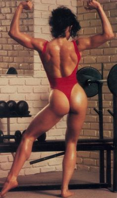 Lisa Lyon, often considered one of the pioneers of female bodybuilding. Lyon entered and won the first IFBB Women's World Pro Bodybuilding Championship in Los Angeles on June 16, 1979.