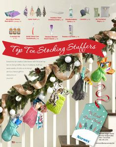 check out our top stocking stuffers. www.mtdhorne.norwex.biz