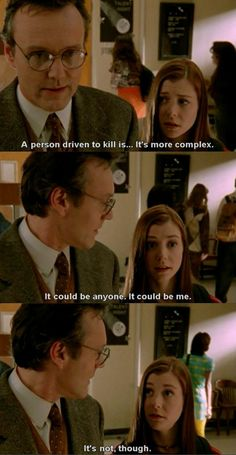 Buffy The Vampire Slayer..omg you have no idea how amazing this show is.