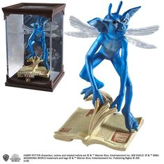 Buy Harry Potter Magical Creatures Cornish Pixie Scuplture today at IWOOT.