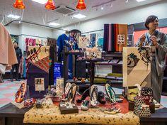 "Asakusa ROX 3G 5/11 A while back (https://www.pinterest.com/pin/196047390005217228/) we mentioned about the closing of the ""Edokomachi"" (http://edokomachi.co.jp/) kimono store in Kappabashi; the reason was probably because they opened this shop inside the ROX 3G! #ROX, #3G, #Edokomachi, #kimono April 1, 2015 © Grigoris A. Miliaresis"