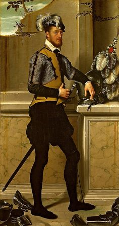 Portrait of a Gentleman  --  Circa 1550  --  Giovanni Battista Moroni  --  National Gallery, London
