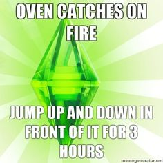 oh the sims.