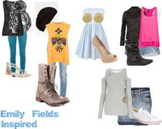 """#1 """"Emily Fields Inspired"""" by get-style-edge on Polyvore"""