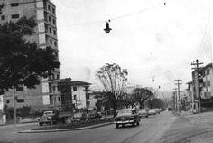 Década de 40 - Avenida Rebouças, trecho próximo ao bairro de Pinheiros.