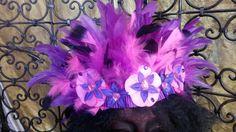 Bandeau de carnaval des antilles et Caraïbes : Accessoires coiffure par claudeplume