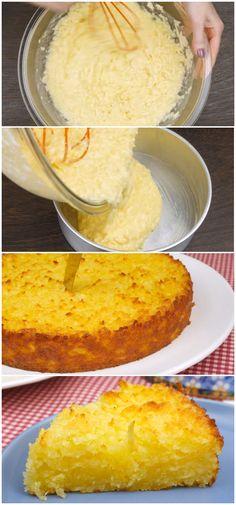 Bolo de Mandioca #bolo #mandioca #receita #gastronomia #culinaria #comida #delicia #receitafacil
