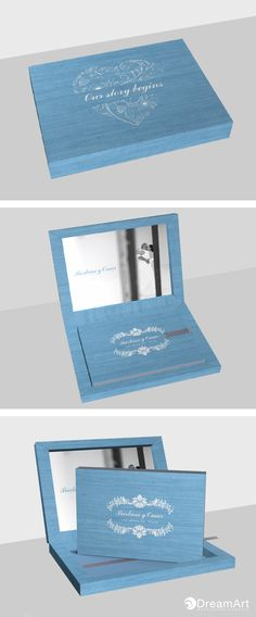 @graphistudio example for DreamArt Photography Weddings Luxury Book. Young Book in podwer blue. #DreamArtPhotography #DreamArtWedding #WeddingAlbum #GraphiStudio #YoungBook #MadeInItaly #LuxuryBook Book Size 30 x 20 cm. 30 pages. Book Cover Podwer Blue. Box Outside Podwer Blue. Inside Photographic paper. Denim Ribbon.