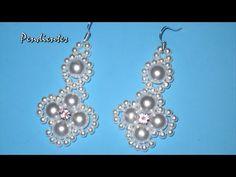 aacfba83f054 DIY - Pendientes faciles para novias - tutorial prinpiantes - DIY - Easy  earrings for brides -