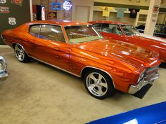 1970 Chevelle...reminds me of  a car from high school