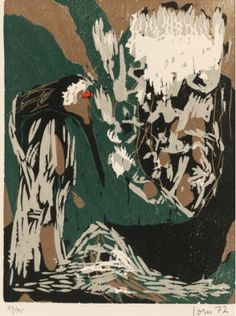 asger jorn woodcuts - Google Search
