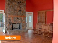Before & After: Laura's Family Room Finds a New Purpose