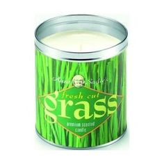 Aunt Sadie's candle in fresh cut grass. They used to carry it at Anthro... It really does smell like cut grass (one of my favorite smells).