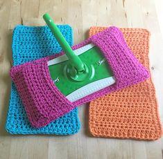 Swiffer Pads, Crochet Crowd, Mop Pads, Crochet Basics, Single Crochet, Crochet Hooks, Make It Yourself, Etsy, Handmade