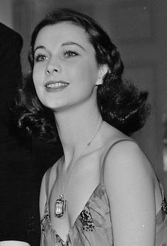 Vivien Leigh I so pretty and did a wonderful job in Gone With the Wind