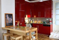 Photo Deco : Cuisine Moderne Appartement Boulogne Moderne Jeune ...