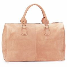 A lovely suede leather handbag.