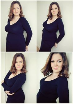 Flattering poses for women with curves