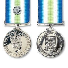 South Atlantic Medal with Rosette (Falklands conflict)