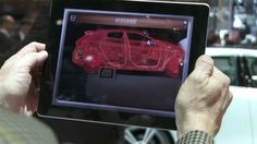 Volvo - Volvo X-RAY by La Comunidad. It's an ideal application for the demonstration of the technology that has the car.