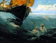Edward Matthew Hale - Mermaid's rock