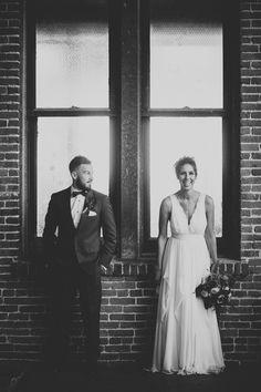 The Big Fake Wedding LA at 440 Seaton 2015- Boho wedding decor ideas - Photo by Let's Frolic Together - http://ruffledblog.com/wanderlust-inspired-wedding-in-los-angeles