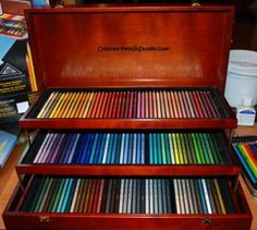 ♥ART♥ 6 PRISMACOLOR PENCILS-THE BEST COLORED PENCIL EVER I HAVE THE WHOLE SET-I WOULD LIKE TO HAVE THIS SET IN TH WOOD BOX