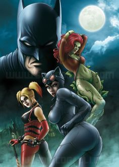 Batman: Gotham City Sirens by Enrico Galli