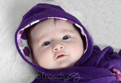 Gratis Schnittmuster für baby hoddie
