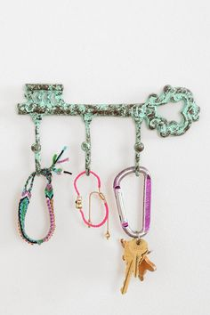 Antiqued Key Wall Hook #urbanoutfitters