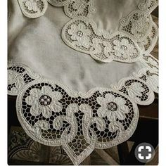 вышивка ришелье Cutwork Embroidery, Hand Embroidery Patterns, Embroidery Stitches, Cut Work, Linens And Lace, Doilies, Applique, Shabby Chic, Quilts