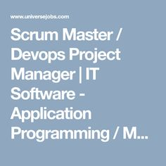 Looking for Scrum Master / Devops Project Manager job?, we have opening in IT Software - Application Programming / Maintenance. required 5 years in IT Software - Application Programming / Maintenance field. Looking For A Job, Marketing Jobs, Focus On Yourself, How To Stay Motivated, Job Search, Project Management, Programming, Software, Motivation