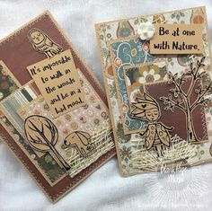 """Hi BPM Fans!    Hope you are all enjoying our monthly theme of """"4 Seasons"""" and can find some time to play in our challenge!  We always love to see what you are all creating with the wonderful and diverse range of rubber stamps available at the store!       Today I am sharing an """"Autumn"""" themed card in keeping with our """"4 Seasons"""" theme for the month.  Love that this card is a perfect way to use up scrap patterned papers you have lying around and I know you all have those scraps around that"""